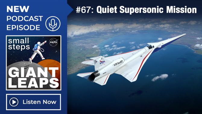 Podcast Episode 67: Quiet Supersonic Mission