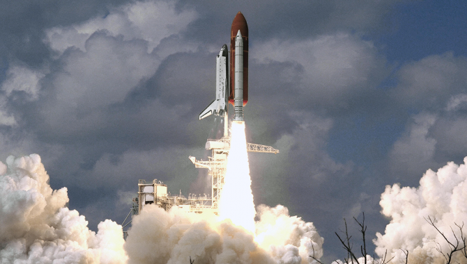 The Space Shuttle Program returned to flight on September 29, 1988—33 years ago this month—with the launch of Discovery on STS-26 from Launch Pad 39B at the Kennedy Space Center. Credit: NASA