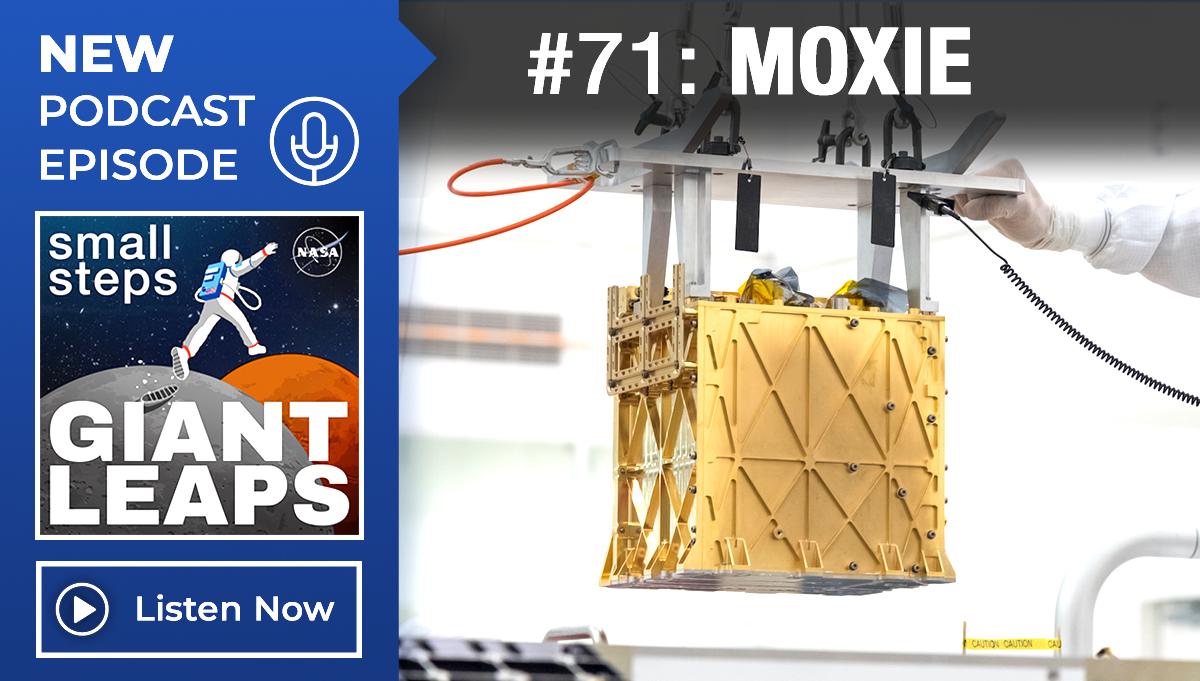 Podcast Episode 71: Mars Oxygen In-Situ Resource Utilization Experiment